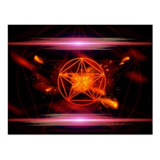 Pentagram Cartão Postal