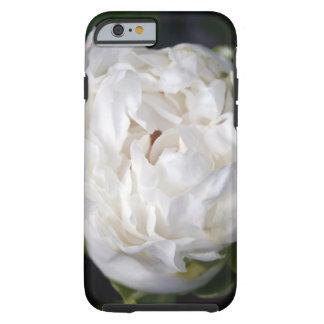 Peônia branca - fotografia floral - capas de capa tough para iPhone 6