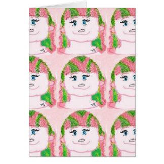 Peppermint de Mindy Cartão