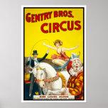Pequena aristocracia Bros. Circo, 1920 Poster