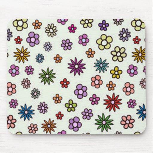 pequenas de padrão de florinhas