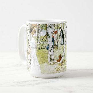 Pequeno almoço de Carl Larsson na caneca aberta