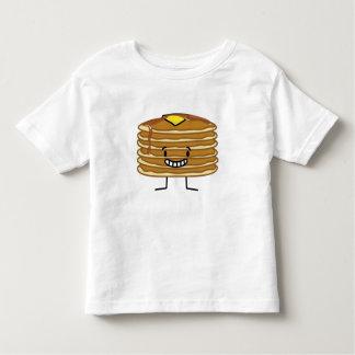 Pequeno almoço macio do xarope da manteiga da camiseta infantil
