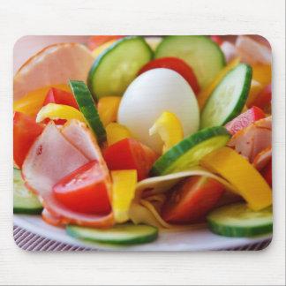 Pequeno almoço saudável do Vegan Mouse Pad