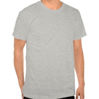 pequeno-logotipo do og com beira alaranjada t-shirts