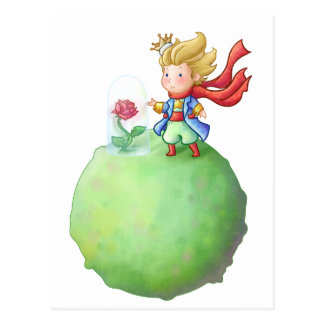 Pequeno Príncipe Cartoes Postais