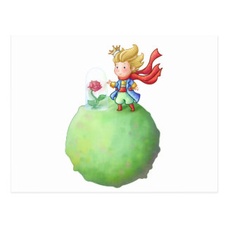 Pequeno Príncipe Cartão Postal
