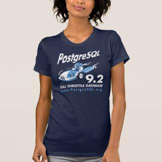 Pequeno Tshirt de PostgreSQL 9,2 (mulheres) Camiseta