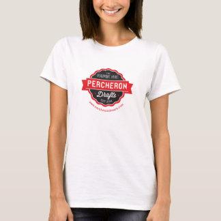 Percheron esboça T Camiseta