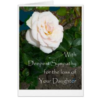Perda do cartão de simpatia de filha