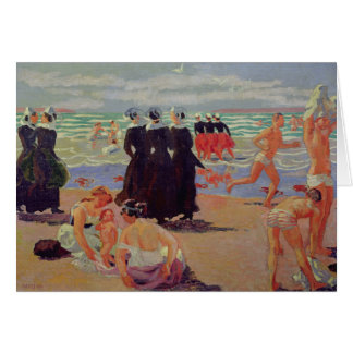 Perdão do Sainte-Anne-la-Palud Cartão Comemorativo