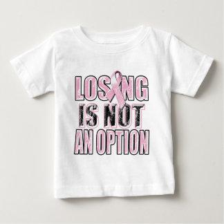 Perder não é um Option.png Camiseta Para Bebê