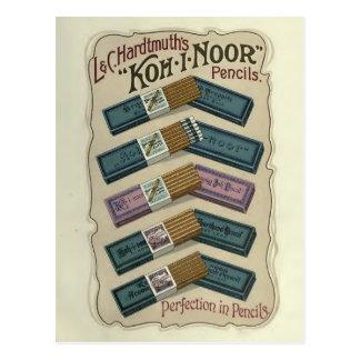 Perfeição no cartão do koh-Eu-Noor dos lápis