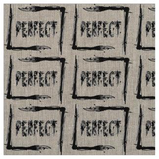 Perfeito Tecido