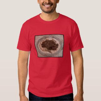 Perfil de um homem mais idoso ou de uma mulher camisetas