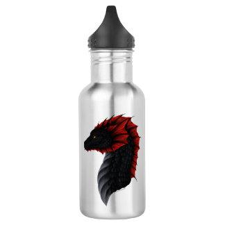 Perfil do dragão de Alavon garrafa de água de 18
