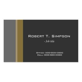 perfil preto/cinzento profissional legal, elegante cartões de visitas