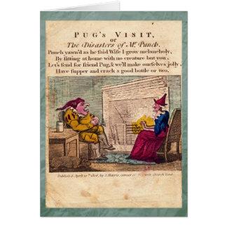 Perfurador & placa da história de Judy mim cartão