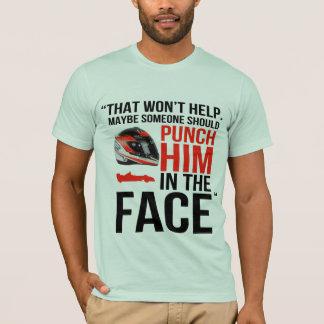 perfure-o na cara camiseta