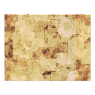 pergaminho antigo marrom do grunge textured flyer 21.59 x 27.94cm