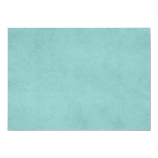 Pergaminho azul do papel verde do Aqua brilhante Convite 11.30 X 15.87cm