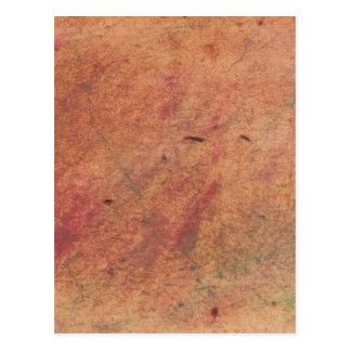 Pergaminho das cores cartão postal