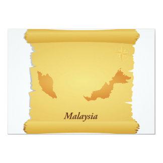 Pergaminho de convites de Malaysia