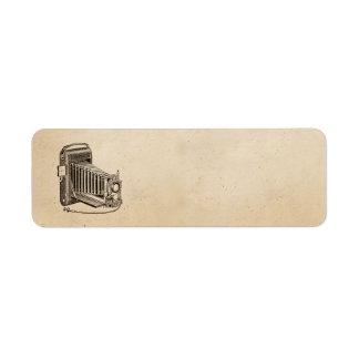 Pergaminho do Musical do jogador gravado de Etiqueta Endereço De Retorno