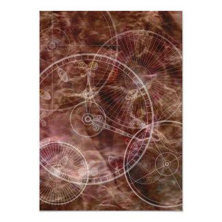 Pergaminho Enchanted Convite 12.7 X 17.78cm