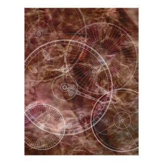 Pergaminho Enchanted Panfletos Personalizado