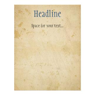 Pergaminho Panfleto Personalizados