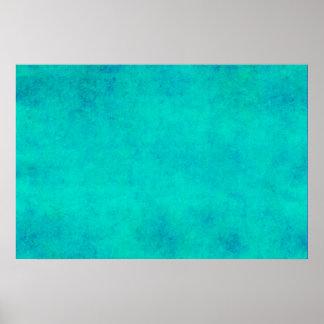 Pergaminho roxo do verde azul do Aqua do vintage Posters