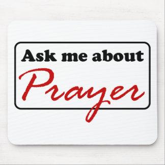 Pergunte-me sobre a oração mouse pad