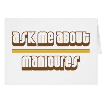 Pergunte-me sobre Manicures Cartoes
