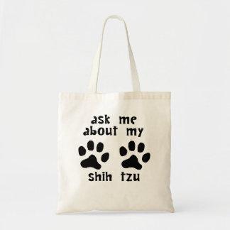 Pergunte-me sobre meu Shih Tzu Bolsa