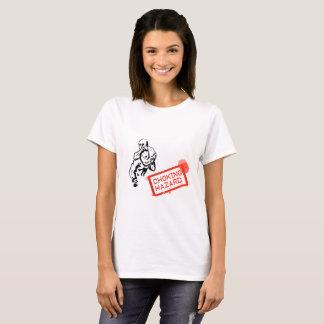 Perigo de bloqueio (a camisa das mulheres)
