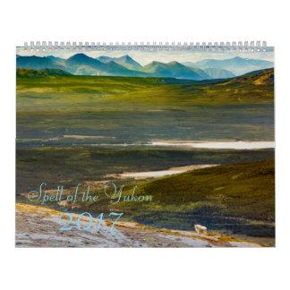 Período do calendário 2017 da foto de Yukon