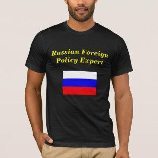 Perito da política externa do russo camiseta