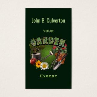 Perito do jardim cartão de visitas