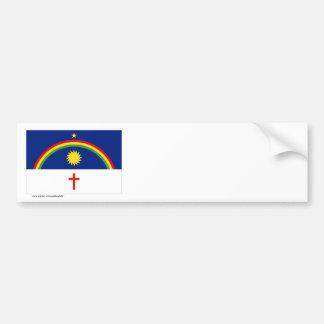 Pernambuco, bandeira de Brasil Adesivo Para Carro
