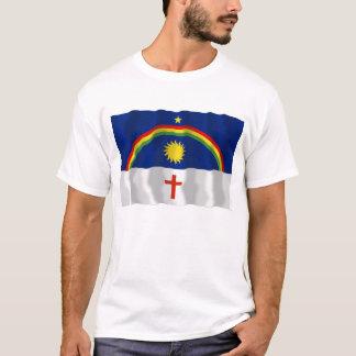 Pernambuco, bandeira de ondulação de Brasil Camiseta
