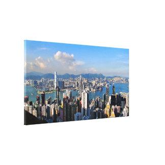 Pérola de Hong Kong do impressão das canvas do