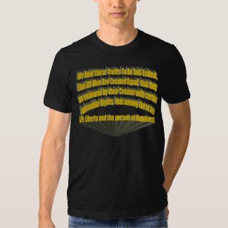 Perseguição do amarelo da felicidade 3D Tshirts