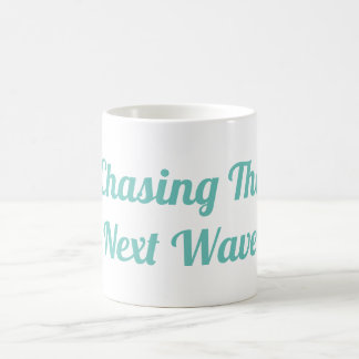 Perseguindo a caneca seguinte da onda