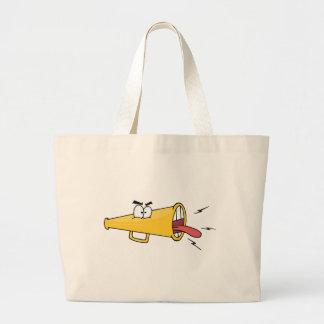 Personagem de desenho animado de Megafon Bolsas Para Compras