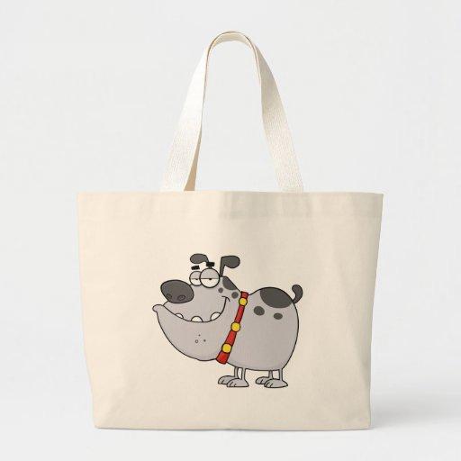 Personagem de desenho animado do cão bolsa para compra