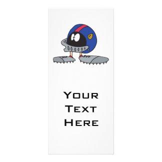 personagem de desenho animado engraçado do capacet modelo de panfleto informativo