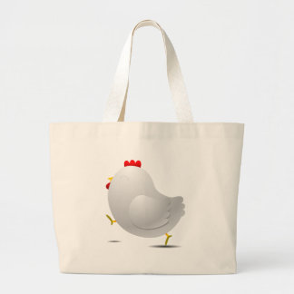 Personagem de desenho animado happpy bonito da gal sacola tote jumbo
