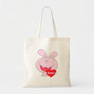personagem de desenho animado pequeno bonito do co bolsa