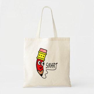 Personagem de desenho animado vermelho dos bolsa tote